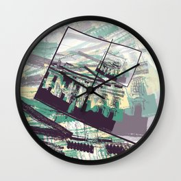 White House Graphic Wall Clock