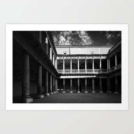 Palazzo del Bo -  Padova, Italia Art Print