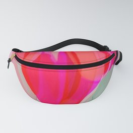 Tulips In Shades Of Red And Pink Fanny Pack