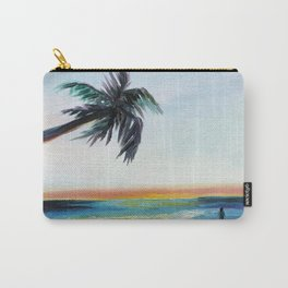 Be Back At Sunset Carry-All Pouch
