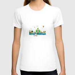 vacation in Lake  T-shirt