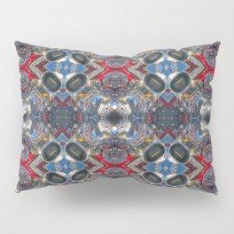 Hot Rod Engine Mandala #1 Pillow Sham