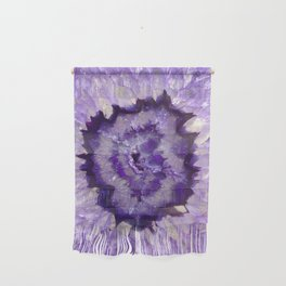Purple Crystal Wall Hanging