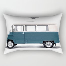ICONIC POLISH POPCULTURAL TRANSPORTER FROM NYSA Rectangular Pillow