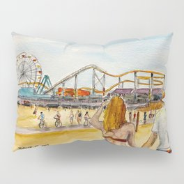 Santa Monica Pier Ferriswheel Pillow Sham