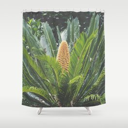 Sago Palm Shower Curtain
