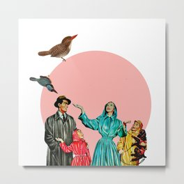 happy family Metal Print