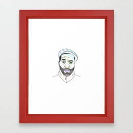 The Rapper-a-Day Project | Day 55: Soup Framed Art Print