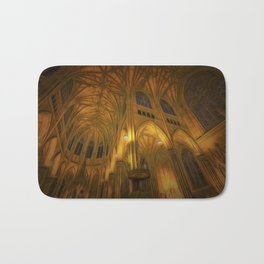 Cathedral Golden Light Bath Mat