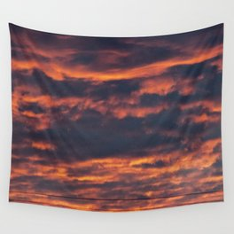 Morning Sky | Clouds Wall Tapestry