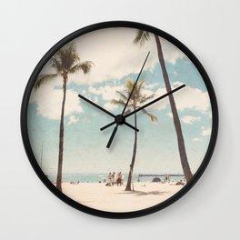 Waikiki Wall Clock