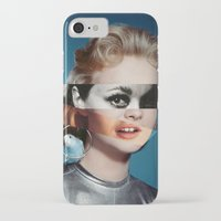 goddess iPhone & iPod Cases featuring Goddess by Alba Blázquez