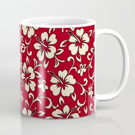 Malia Hawaiian Hibiscus Aloha Shirt Print Coffee Mug