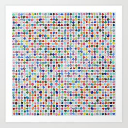 Mod Dots Art Print