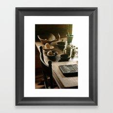 Lovely Wood Framed Art Print