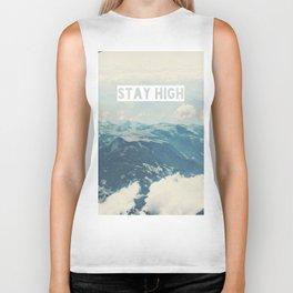 Stay High Biker Tank