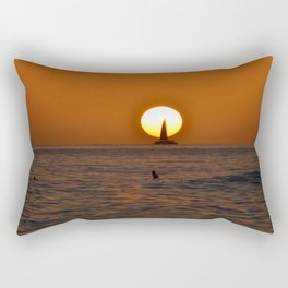 Sail into the Sun Rectangular Pillow