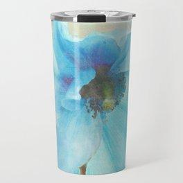 Blue Himalayan Poppies Travel Mug