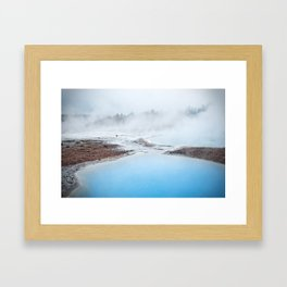 geyser Framed Art Print