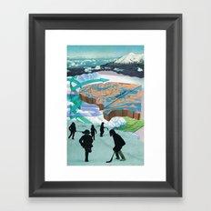 arsicollage_7 Framed Art Print