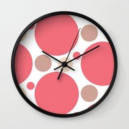 Seeing Spots Wall Clock