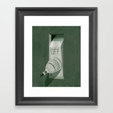 Government Shutdown Framed Art Print