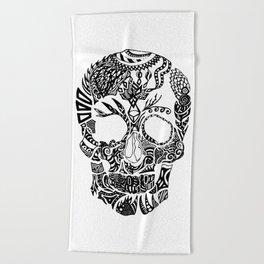 Dia de los muertos by Floris V Beach Towel