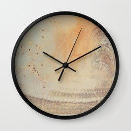 Descent into the Sea Wall Clock