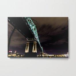 Montreal Under bridge Metal Print