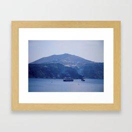 Santorini, Greece 8 Framed Art Print