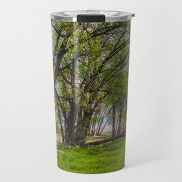 Cottonwoods at Lee's Farm Travel Mug