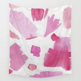 Shades of Pink Abstract 1 Wall Tapestry