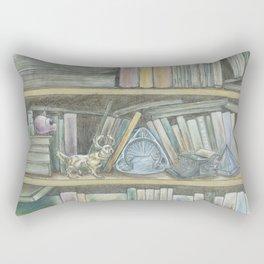 RHX Bookshelf Logo Rectangular Pillow