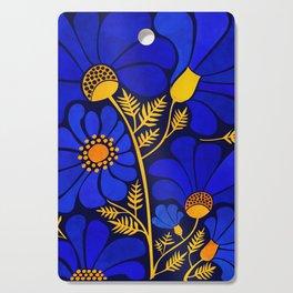 Wildflower Garden Cutting Board