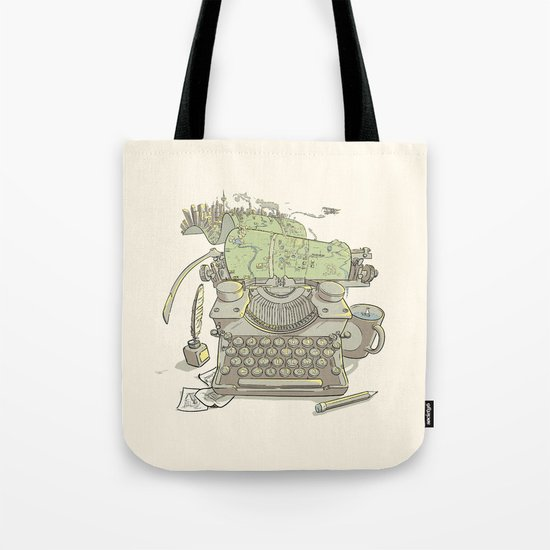 A Certain Type of City Tote Bag