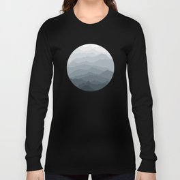Silver Dew Mountains Long Sleeve T-shirt