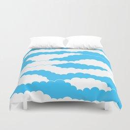 Blue Sky Duvet Cover