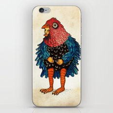 El pájaro iPhone & iPod Skin