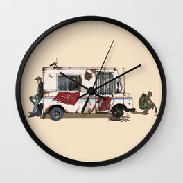 The Unlikely Mishappening Wall Clock