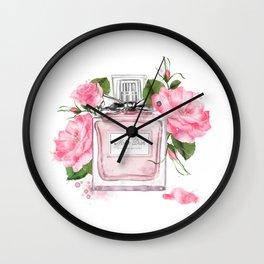 Miss pink Wall Clock