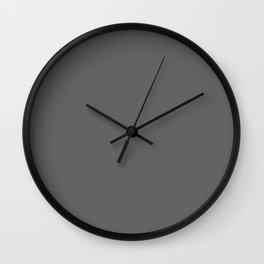 Simply Storm Gray Wall Clock
