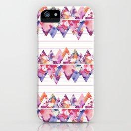 Stripe Mountain iPhone Case