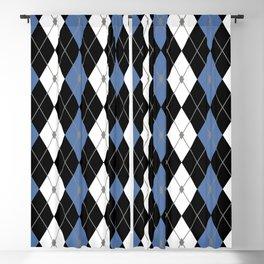 Rhombus Color Combination 7 Blackout Curtain