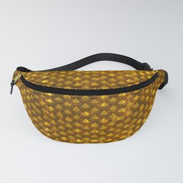 Chinese Scales Golden Dragon Fanny Pack