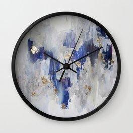 North Gold Wall Clock