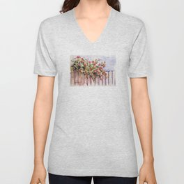 Roses: Over the Top Unisex V-Neck
