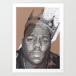 The Notorious BIG Kunstdrucke