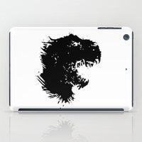 t rex iPad Cases featuring t-rex by barmalisiRTB