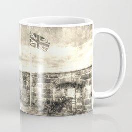 Edinburgh Castle Vintage Coffee Mug