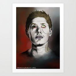Amor mortem vincit Art Print